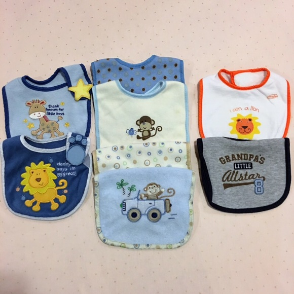 4  20 Bundle of 8 Baby Bibs Various Brands 1c318826311c